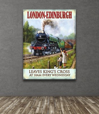Railway Poster Signs