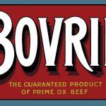 Bovril Advertising Metal Wall Art