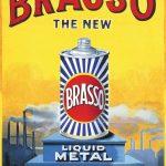 Brasso Vintage Advertising Metal Wall Art