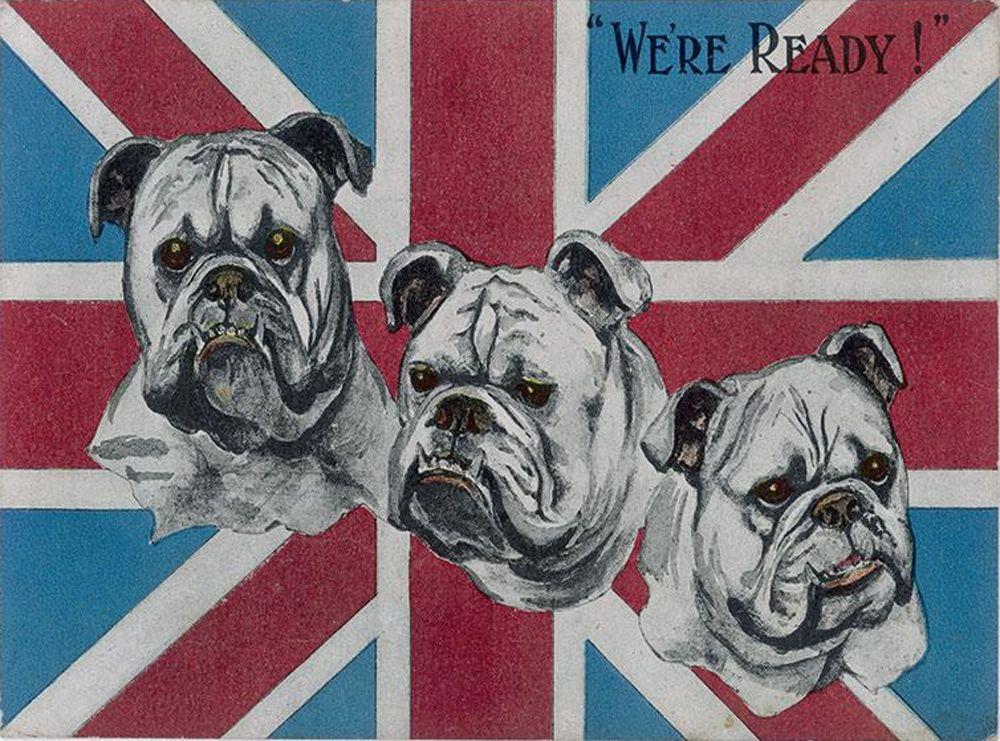 British Bulldogs WW2 Metal Wall Art