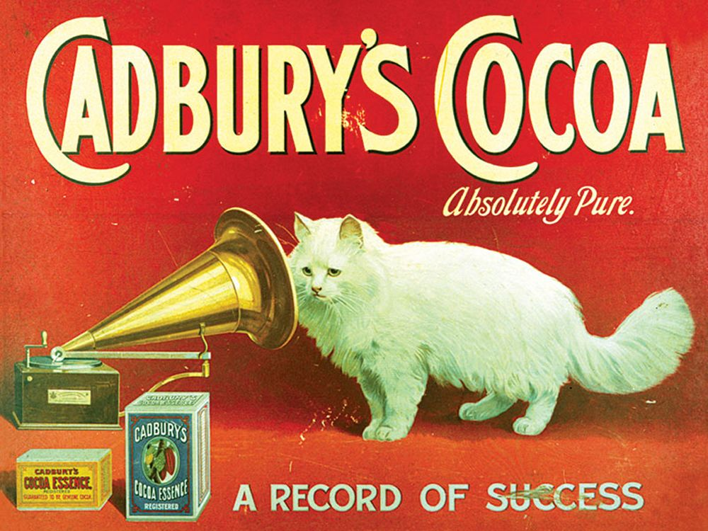 Cadbury's Cocoa Vintage Advertising Wall Art
