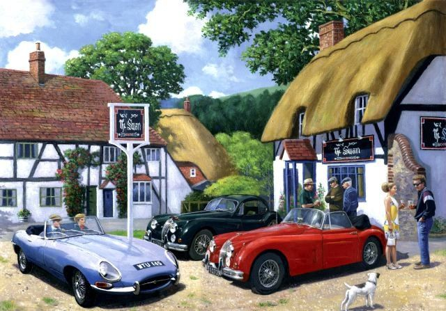 Classic Car Owners Club Metal Wall Art