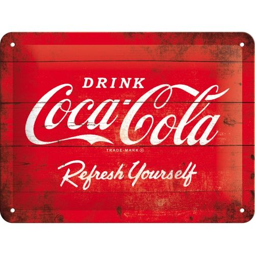 Coca Cola 3D Metal Wall Art (Small)