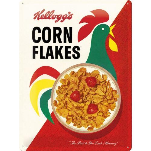 Kellogg's Cornflakes 3D Metal Wall Art