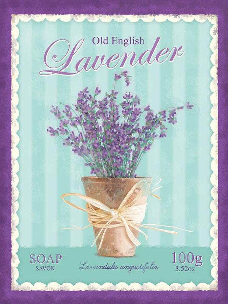 Lavender Soap Metal Wall Art