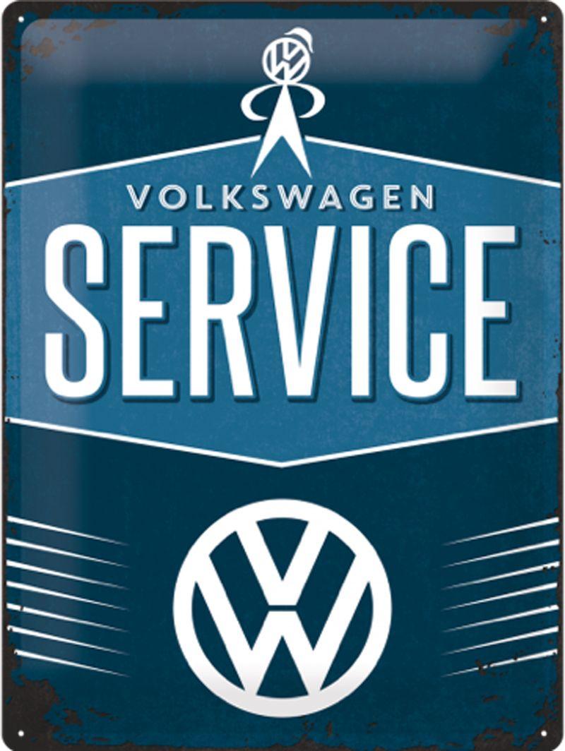 Volkswagen Volkswagen Service 3D Metal Wall Art