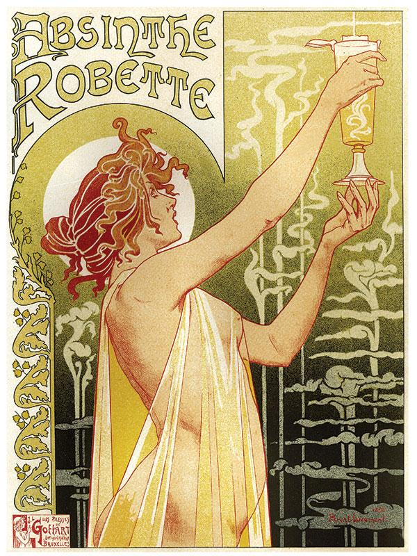Absinthe Robette Spirit Sign