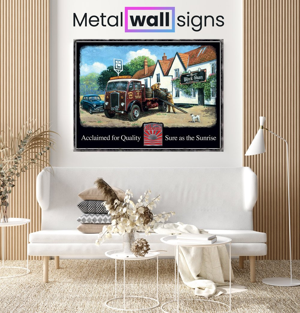 Albion-Truck-Metal-Wall-Art-SIgn--MWS