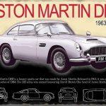 Aston Martin DB5 Metal Wall Sign