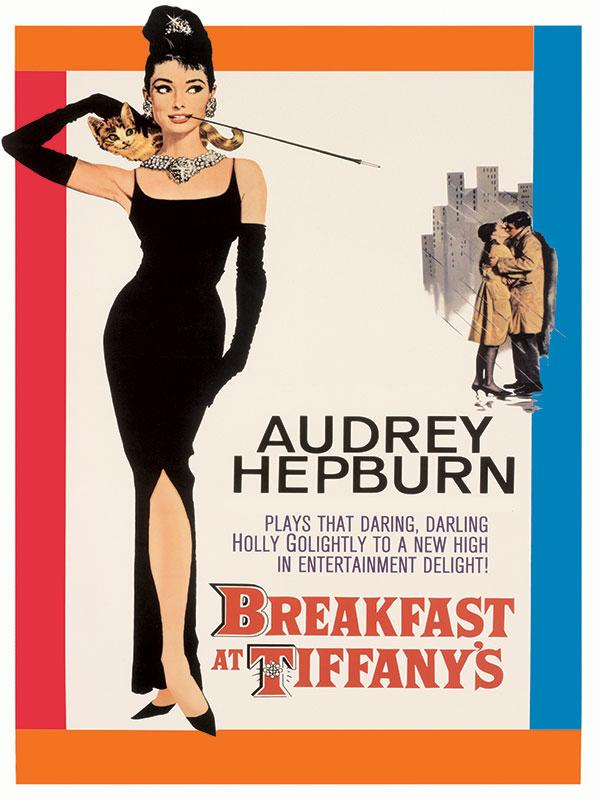 Audrey Hepburn Breakfast at Tiffanys Wall Sign