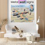 Avro-Lancaster-Bomber-Wartime-Wall-Art-Sign-MWS