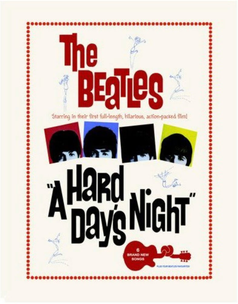 Beatles-Hard-Days-night-Wall-Sign