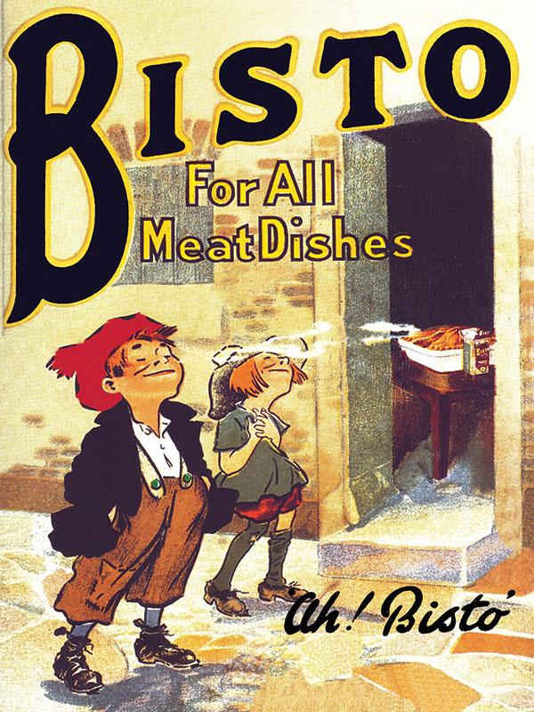 Bisto Kids Wall Sign