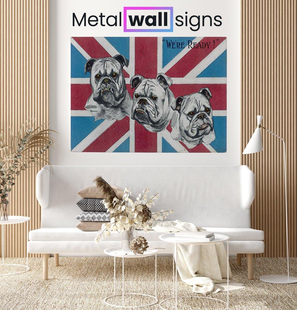 British-Bulldogs-Wartime-Wall-Art-Sign-MWS
