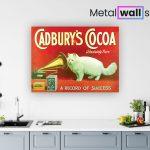 Cadbury-Cocca-Cat-Metal-Wall-Art-Sign-MWS