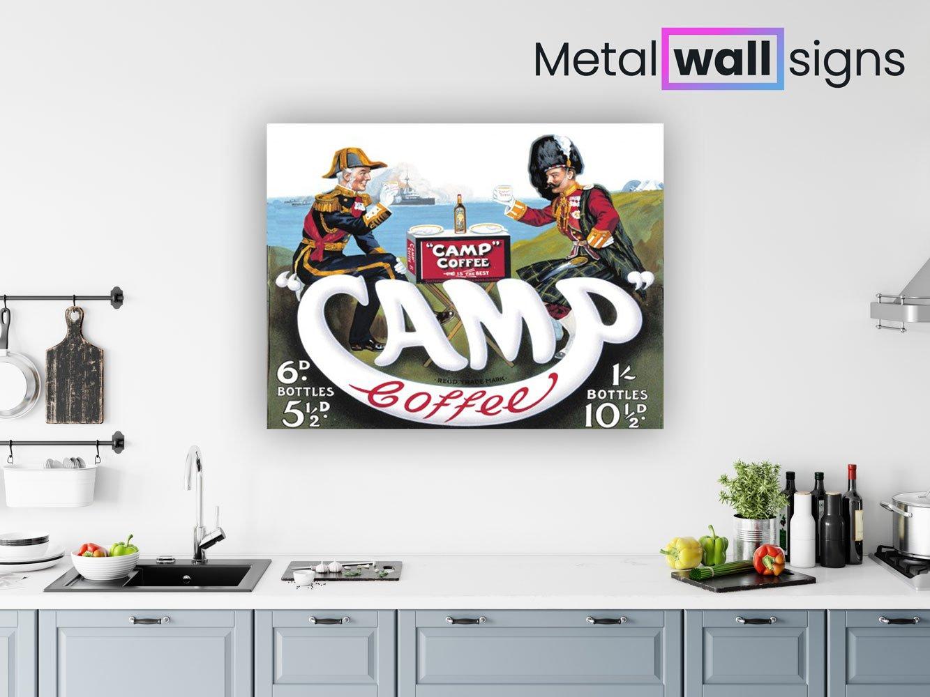 Camp-Coffee-Metal-Wall-Art-Sign-MWS