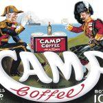 Camp Coffee Metal Wall Sign