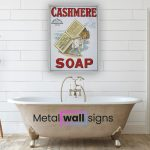 Cashmere-Soap-Metal-Wall-Art-Sign-MWS