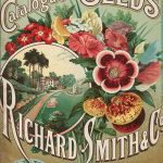 Catalogue of Seeds Advert Sign