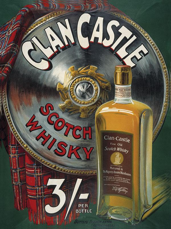 Clan Castle Whiskey Sign
