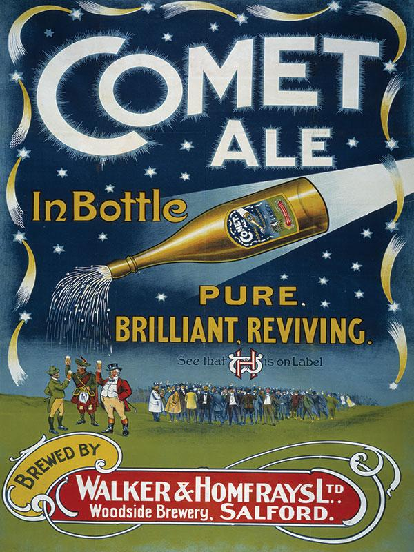 Comet Ale Bar Sign