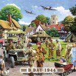 D-Day Landings Wartime Sign