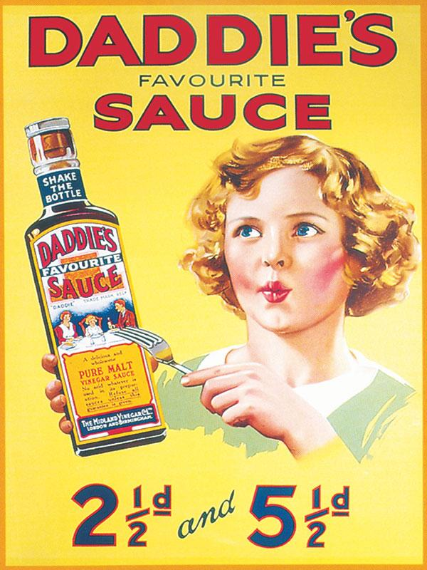 Daddies Sauce Wall Sign