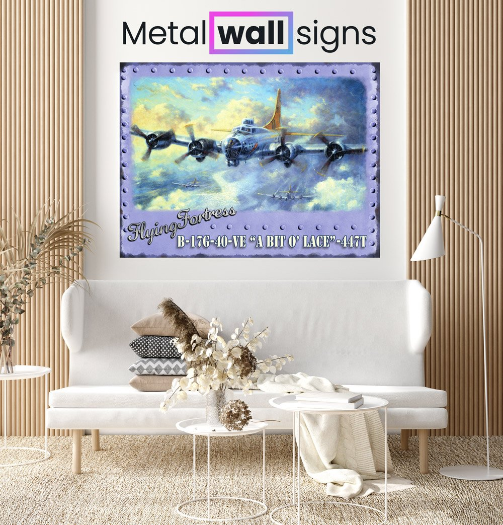 Flying-Fortress-Wartime-Wall-Art-Sign-MWS