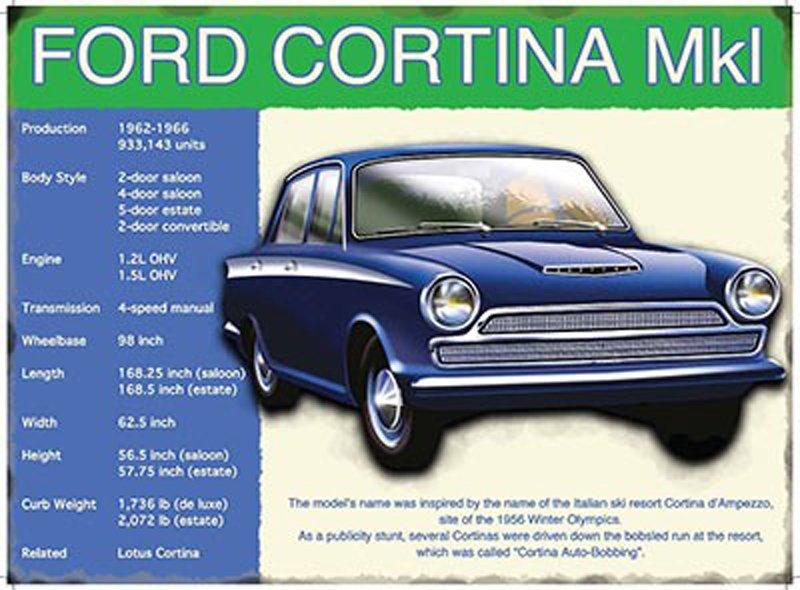 Ford-Cortina-Metal-Wall-Sign