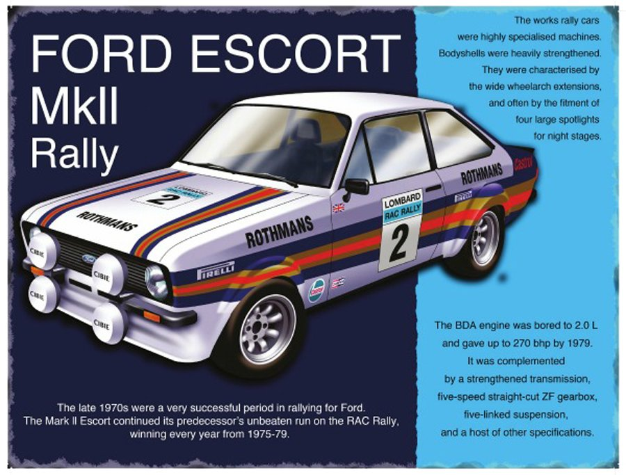 Ford-Escort-MKII-Rally-Metal-Wall-Sign