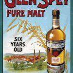 Glen Spey Malt Whiskey Sign