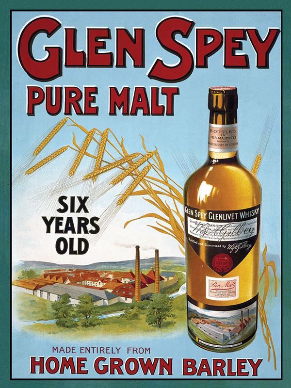 Glen Spey Malt Whiskey Sign