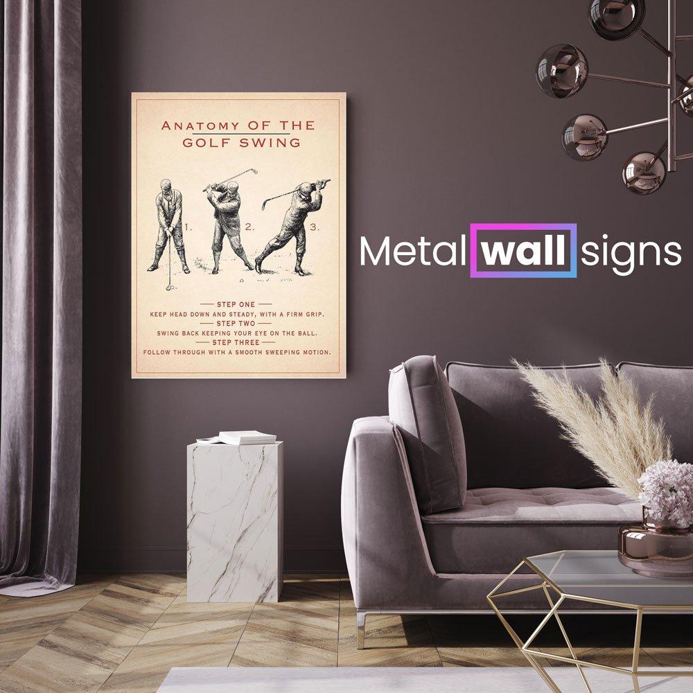 anatomy-of-the-golf-swing-metal-wall-art