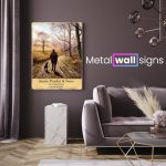Home-from-the-Shoot-Metal-Wall-Art-Sign-MWS