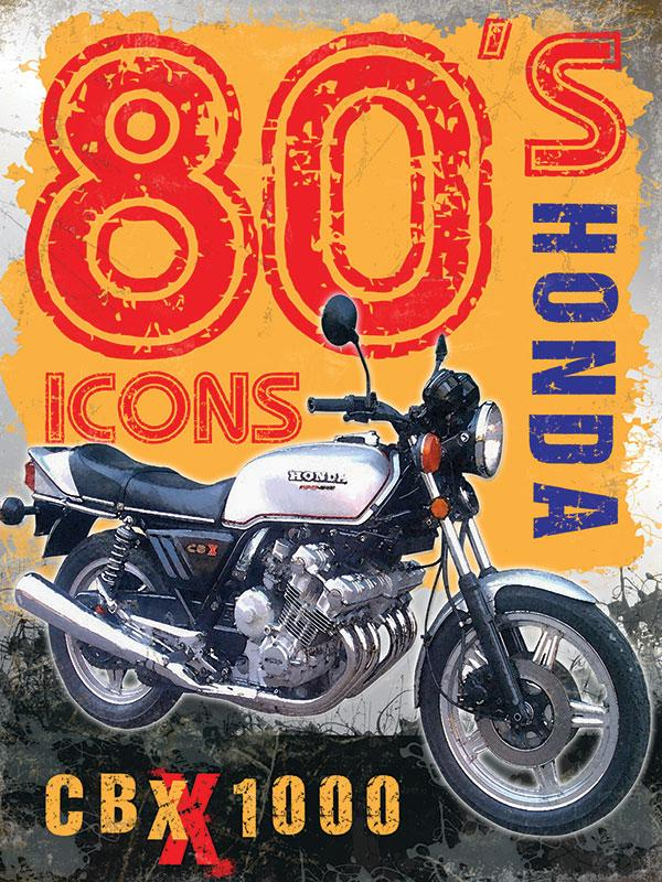 Honda CBX 1000 Metal Wall sign