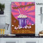 Hot-Chocolate-Diner-Metal-Wall-Art-MWS