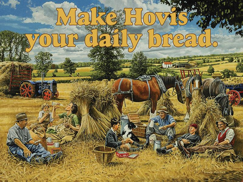 Hovis Advertising Sign