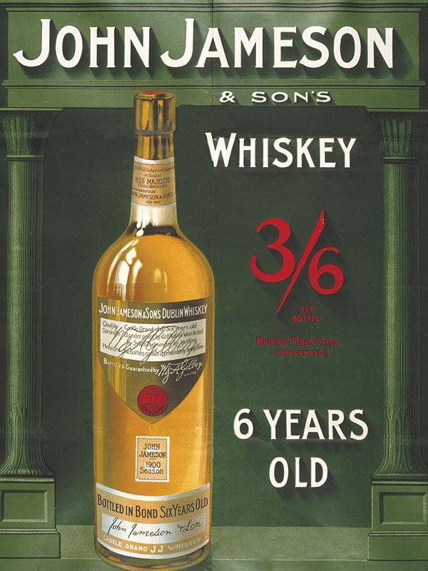 Jameson Whiskey Sign