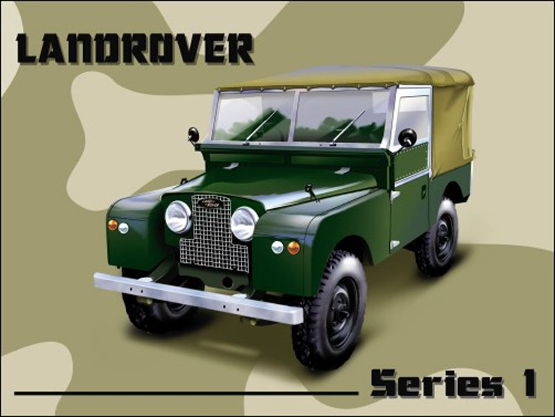Landrover-Series-I-Metal-Wall-Sign