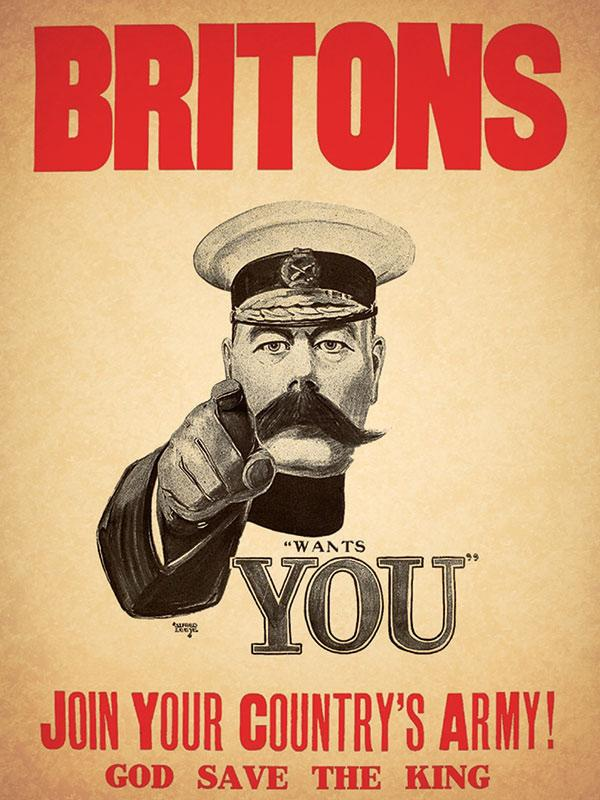 Lord Kitchner Your Country Needs You