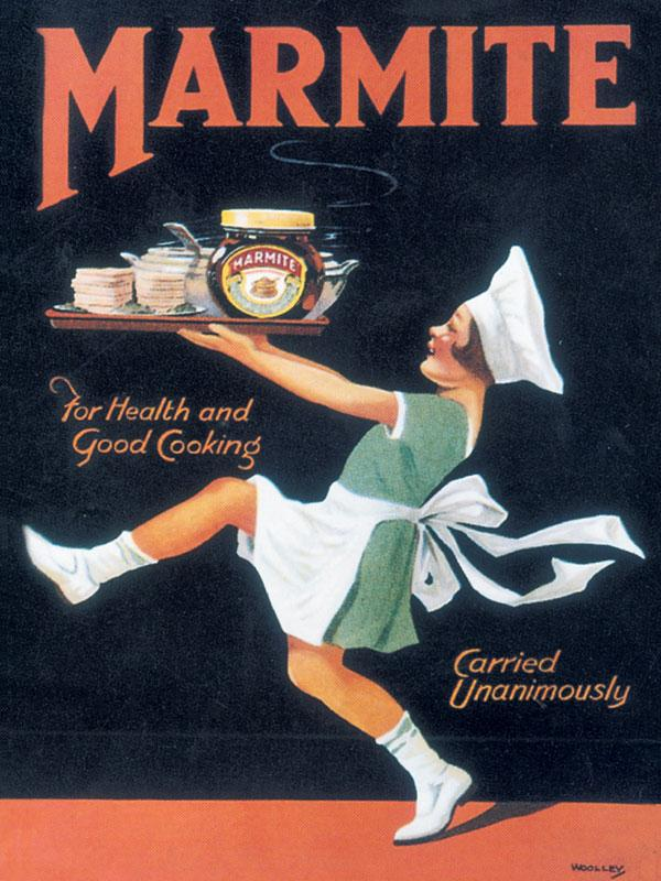 Marmite Wall Sign