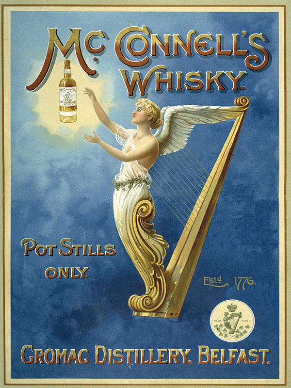 Mcconnells Whiskey Bar Sign