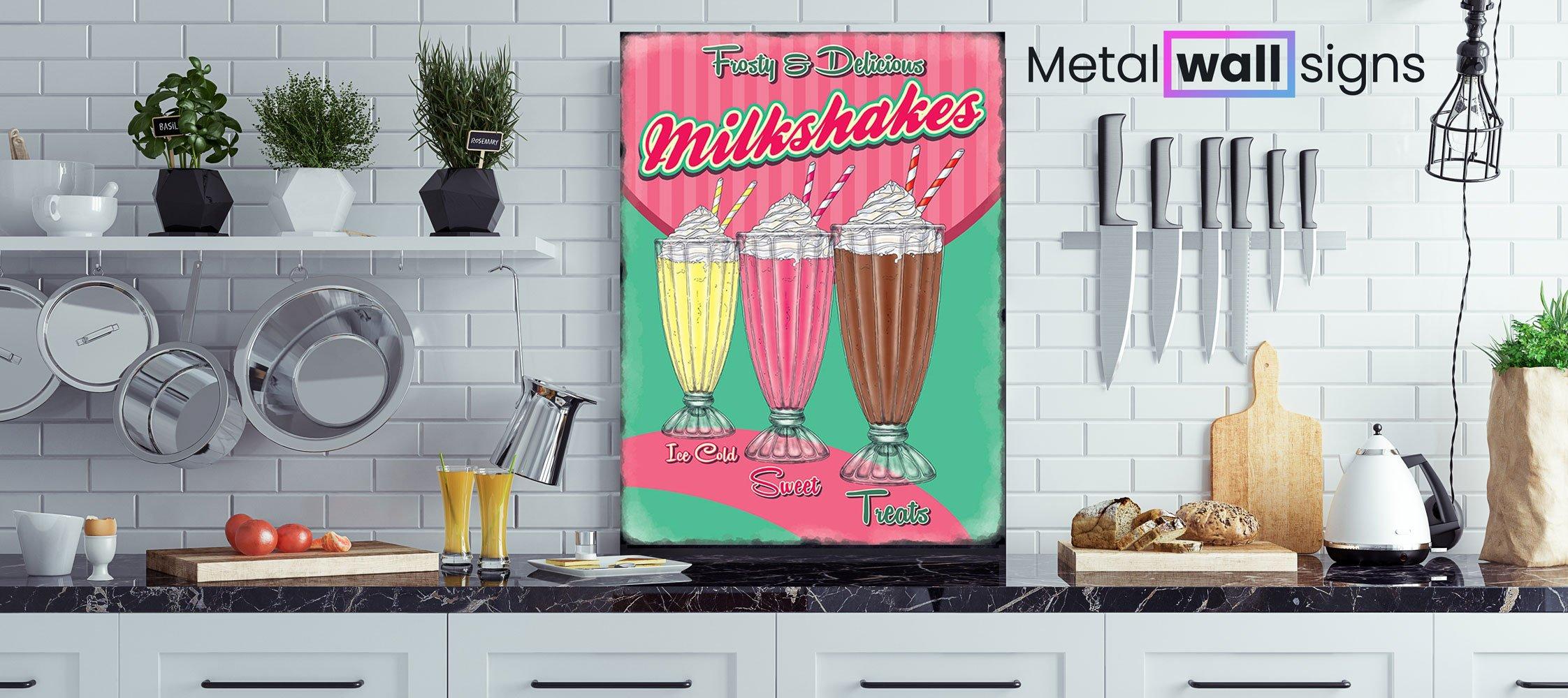 Milkshakes-Diner-Metal-Wall-Art-MWS