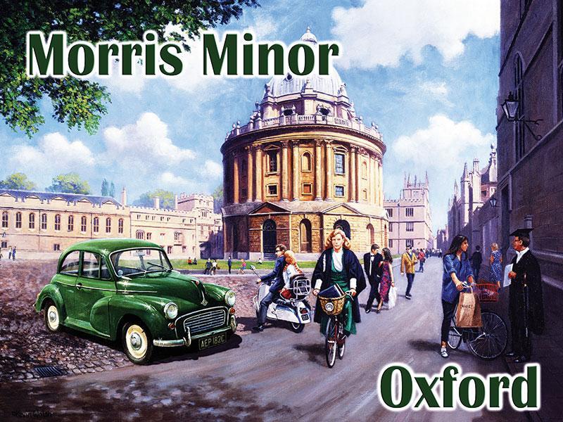 Morris Minor in Oxford