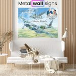 Mosquito-Plane-Wartime-Wall-Art-Sign-MWS