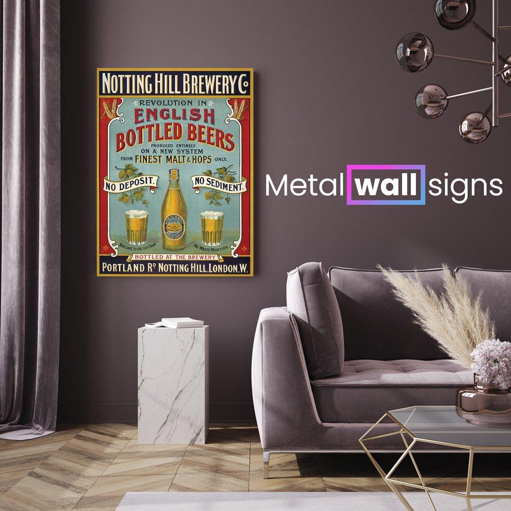 Notting-Hill-Brewery-Metal-Wall-Art-Sign-MWS