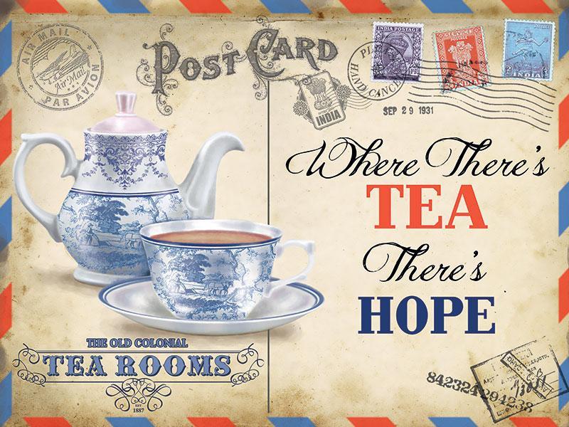 Tea Kitchen Sign