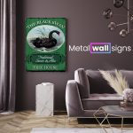 The-Black-Swan-Pub-Metal-Wall-Art-Sign-MWS