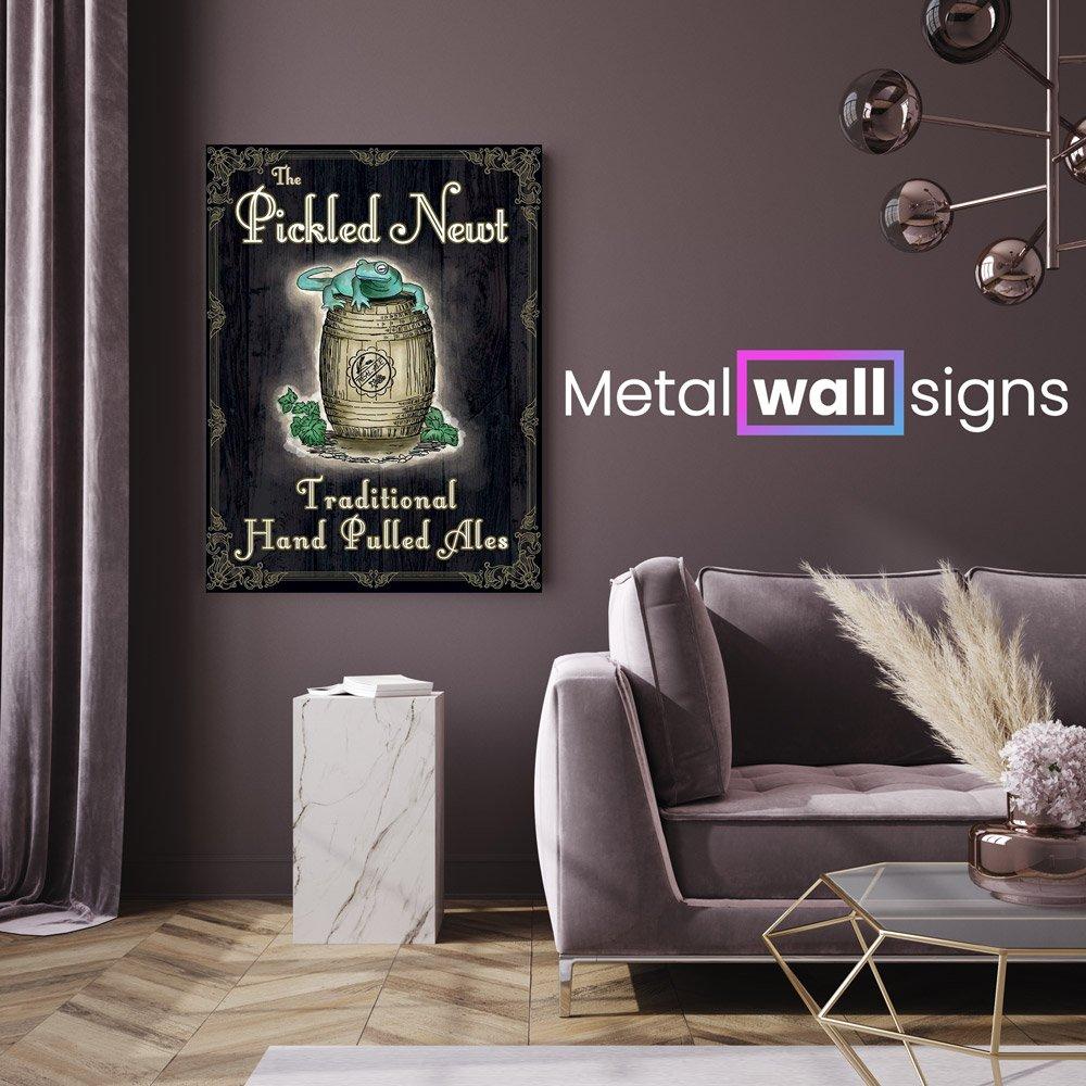 The-Pickled-Newt-Pub-Metal-Wall-Art-Sign-MWS