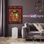 The-Red-Lion-Pub-Metal-Wall-Art-Sign-MWS
